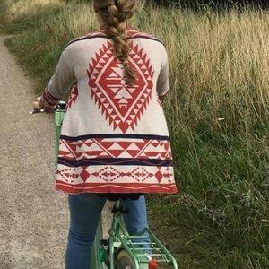 Hippie Rose - Long Sleeve Cardigan